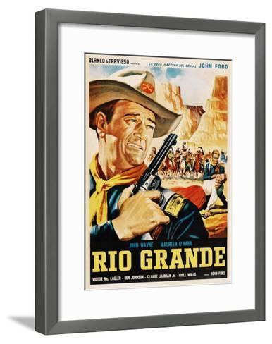 Rio Grande, John Wayne, 1950--Framed Art Print