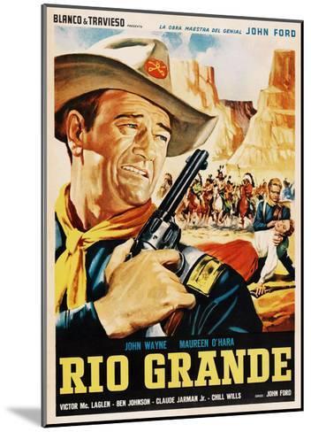 Rio Grande, John Wayne, 1950--Mounted Giclee Print