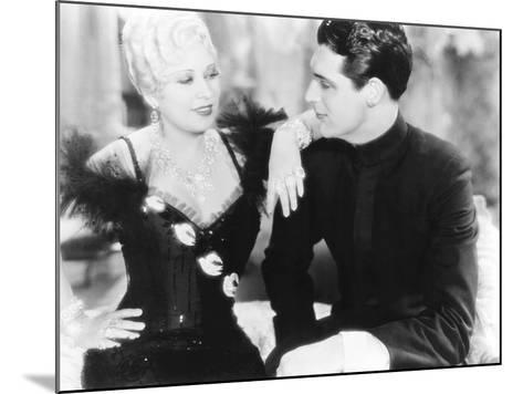 She Done Him Wrong, from Left: Mae West, Cary Grant, 1933--Mounted Photo