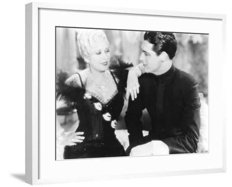 She Done Him Wrong, from Left: Mae West, Cary Grant, 1933--Framed Art Print