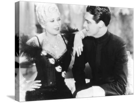 She Done Him Wrong, from Left: Mae West, Cary Grant, 1933--Stretched Canvas Print