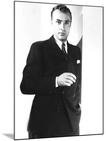 Love Affair, Charles Boyer, 1939--Mounted Photo