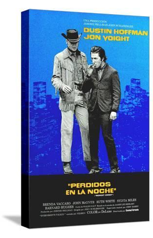 Midnight Cowboy, Jon Voight, Dustin Hoffman, 1969--Stretched Canvas Print