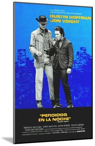 Midnight Cowboy, Jon Voight, Dustin Hoffman, 1969--Mounted Giclee Print
