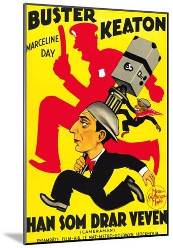 The Cameraman, Buster Keaton, 1928--Mounted Giclee Print