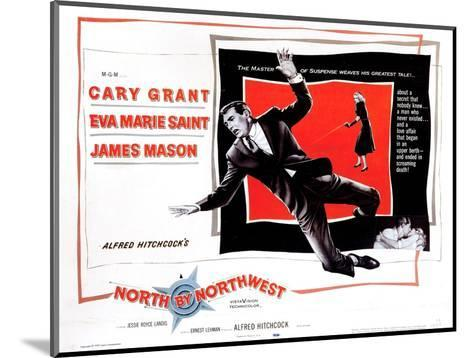 North by Northwest, from Left, Cary Grant, Eva Marie Saint, 1959--Mounted Giclee Print