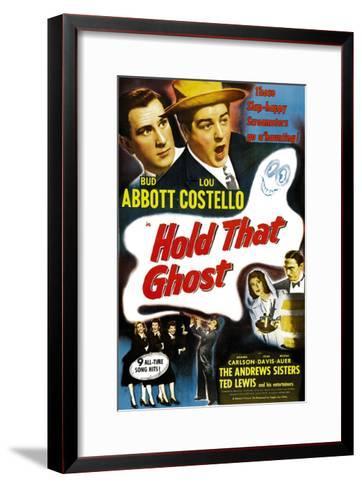 Hold That Ghost, 1941--Framed Art Print