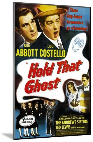 Hold That Ghost, 1941--Mounted Giclee Print