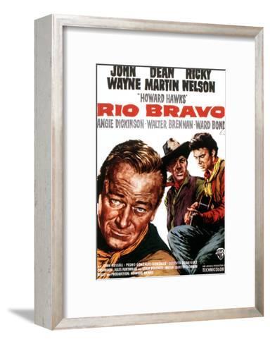 Rio Bravo, John Wayne, Dean Martin, Ricky Nelson, 1959--Framed Art Print