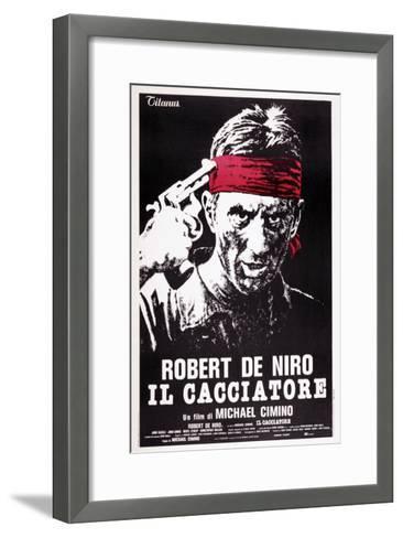 The Deer Hunter, (aka Il Cacciatore), Robert De Niro, 1978--Framed Art Print