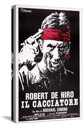 The Deer Hunter, (aka Il Cacciatore), Robert De Niro, 1978--Stretched Canvas Print