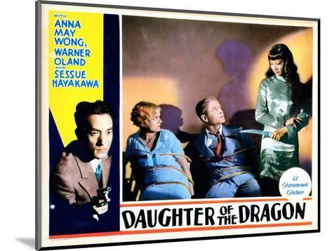 Daughter of the Dragon, 1931--Mounted Giclee Print