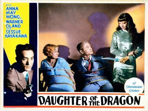 Daughter of the Dragon, 1931--Stretched Canvas Print