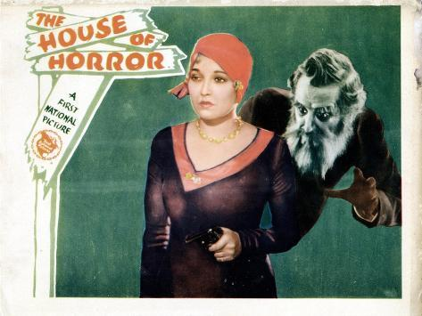 House of Horror, (aka the Haunted House), Thelma Todd, Emile Chautard, 1929--Stretched Canvas Print