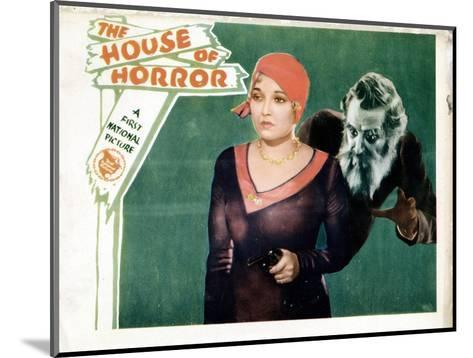 House of Horror, (aka the Haunted House), Thelma Todd, Emile Chautard, 1929--Mounted Giclee Print