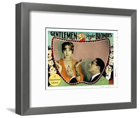 Gentlemen Prefer Blondes, Ruth Taylor, Holmes Herbert, 1928--Framed Art Print