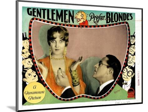 Gentlemen Prefer Blondes, Ruth Taylor, Holmes Herbert, 1928--Mounted Giclee Print