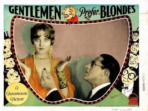 Gentlemen Prefer Blondes, Ruth Taylor, Holmes Herbert, 1928--Stretched Canvas Print