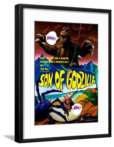 Son of Godzilla, (AKA Kaijuto No Kessen: Gojira No), 1967--Framed Art Print