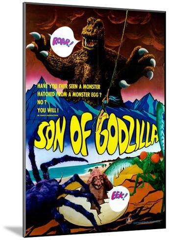 Son of Godzilla, (AKA Kaijuto No Kessen: Gojira No), 1967--Mounted Giclee Print