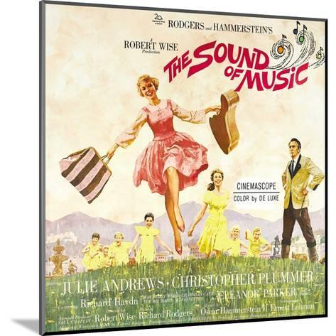 The Sound of Music, from Left: Julie Andrews, Christopher Plummer, 1965--Mounted Giclee Print