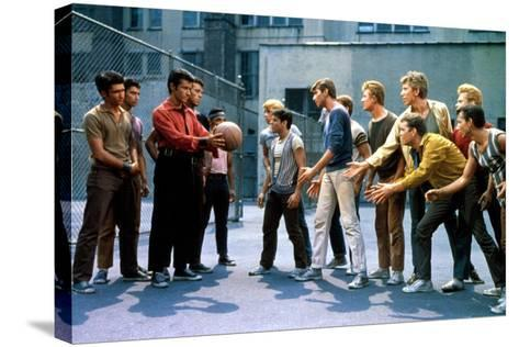West Side Story, George Chakiris, Russ Tamblyn, David Winters, 1961--Stretched Canvas Print
