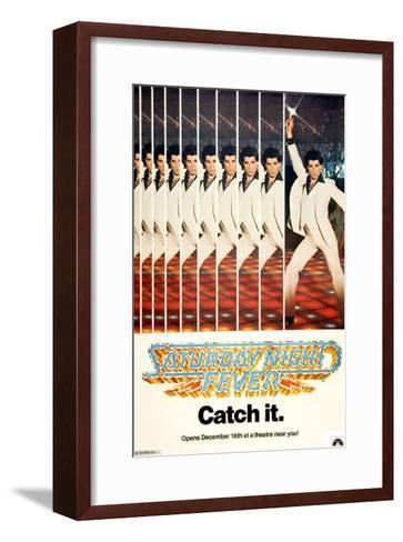 Saturday Night Fever, John Travolta, 1977--Framed Art Print