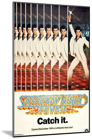 Saturday Night Fever, John Travolta, 1977--Mounted Giclee Print