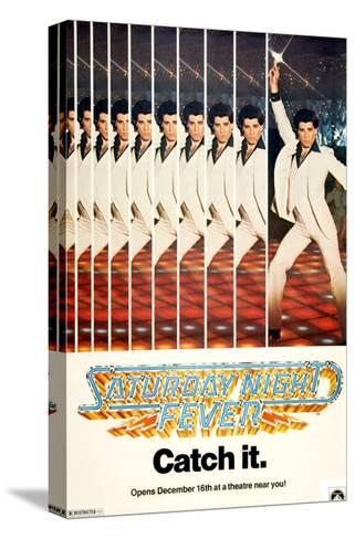 Saturday Night Fever, John Travolta, 1977--Stretched Canvas Print