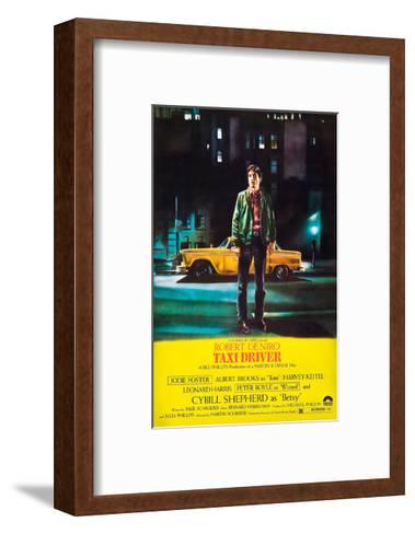 Taxi Driver, Robert De Niro, 1976--Framed Art Print