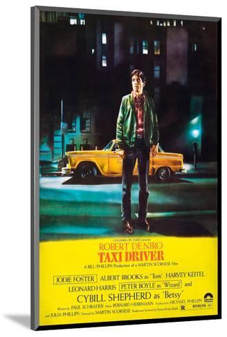 Taxi Driver, Robert De Niro, 1976--Mounted Giclee Print