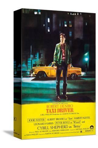 Taxi Driver, Robert De Niro, 1976--Stretched Canvas Print
