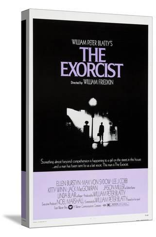 The Exorcist, Max Von Sydow, 1973--Stretched Canvas Print