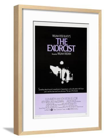 The Exorcist, Max Von Sydow, 1973--Framed Art Print