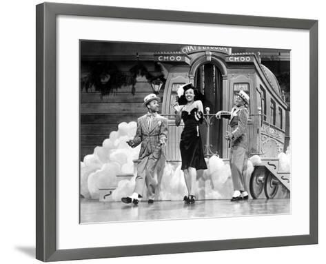 Sun Valley Serenade, Nicholas Brothers, Dorothy Dandridge, 1941, 'Chatanooga Choo Choo.'--Framed Art Print