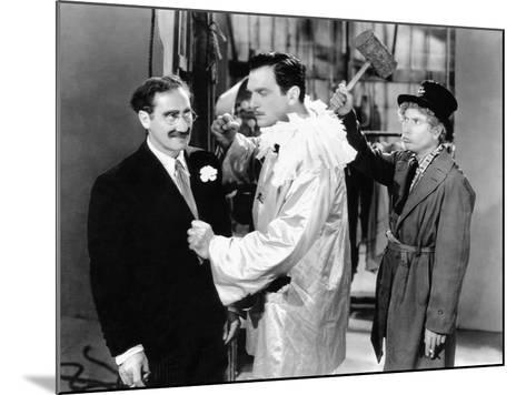 A Night at the Opera, Groucho Marx, Walter Woolf King, Harpo Marx, 1935--Mounted Photo