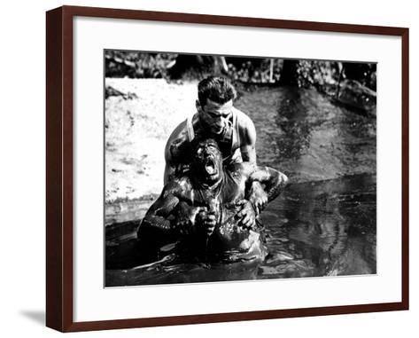 The Wages of Fear, (aka Le Salaire De La Peur), Charles Vanel, Yves Montand, 1953--Framed Art Print