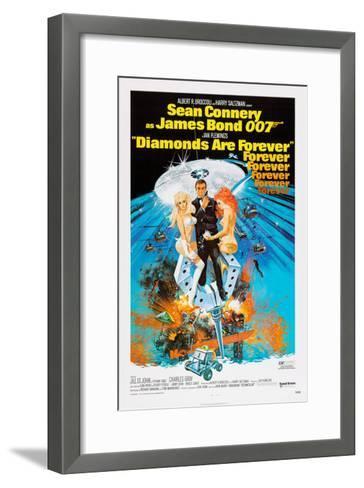 Diamonds are Forever, Sean Connery, 1971--Framed Art Print