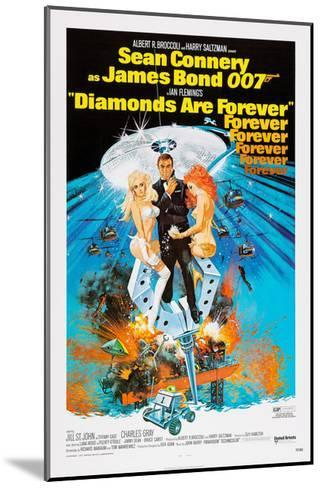 Diamonds are Forever, Sean Connery, 1971--Mounted Giclee Print