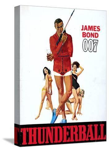 Thunderball, Sean Connery 1965--Stretched Canvas Print