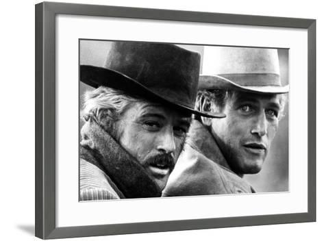 Butch Cassidy and the Sundance Kid, Robert Redford, Paul Newman, 1969--Framed Art Print