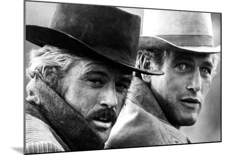 Butch Cassidy and the Sundance Kid, Robert Redford, Paul Newman, 1969--Mounted Photo