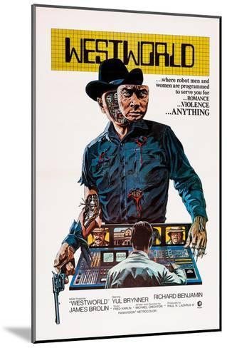 Westworld, Yul Brynner, 1973--Mounted Giclee Print
