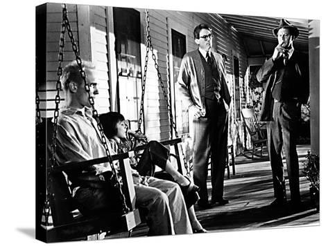 To Kill a Mockingbird, Robert Duvall, Mary Badham, Gregory Peck, Frank Overton, 1962--Stretched Canvas Print