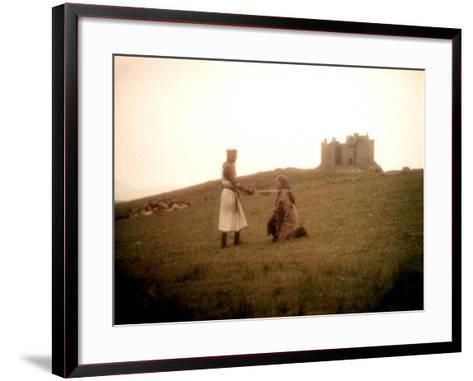 Monty Python and the Holy Grail, Graham Chapman, Michael Palin, 1975--Framed Art Print