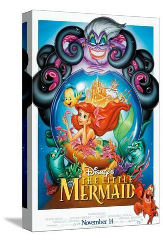 The Little Mermaid, 1989--Stretched Canvas Print