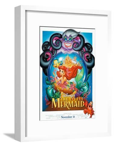The Little Mermaid, 1989--Framed Art Print