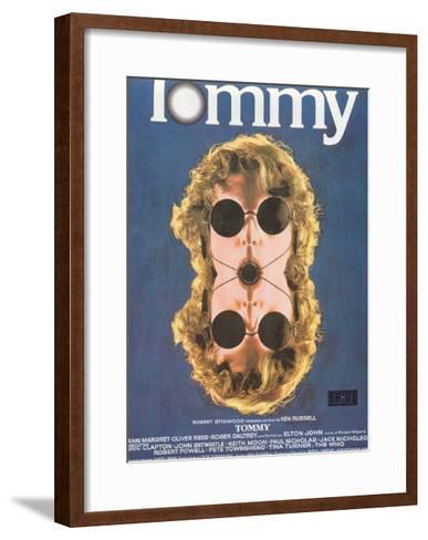Tommy, Spanish Poster Art, 1975--Framed Art Print
