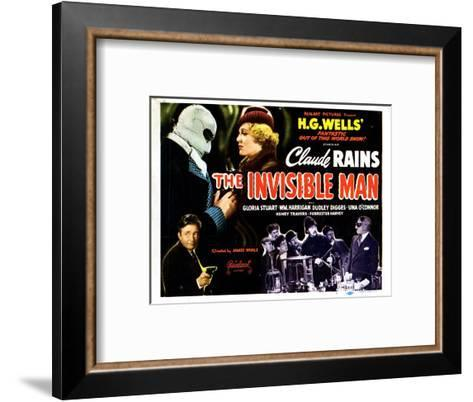 The Invisible Man, 1933--Framed Art Print