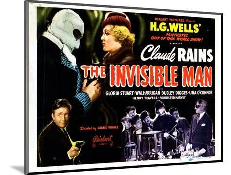 The Invisible Man, 1933--Mounted Giclee Print
